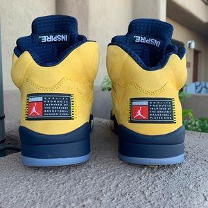 "Jordan Shoes - Air Jordan 5 ""Michigan"""